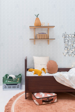 houten kinder bed